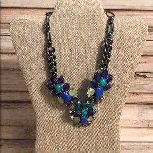 Stella & Dot Peacock Necklace